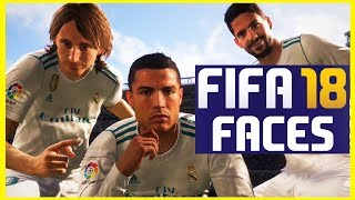 Fifa 18 player faces from gamescom (new and old faces)