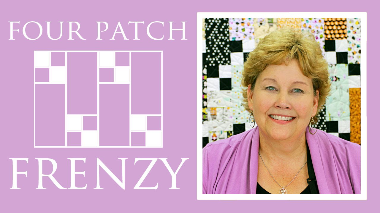The Four Patch Frenzy Quilt: Easy Quilting Tutorial with Jenny ... : 4 patch quilt patterns free - Adamdwight.com