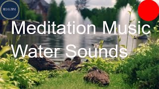 Deep Sleep Meditation Music For Anxiety, Relaxing River and Birds Sounds