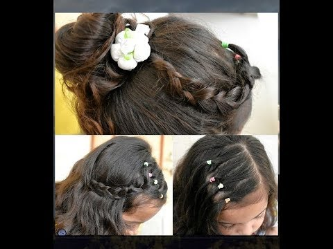 3 Easy Simple kids Hairstyles in 5 minutes| For Short Medium Hair|Back to school Hairstyle