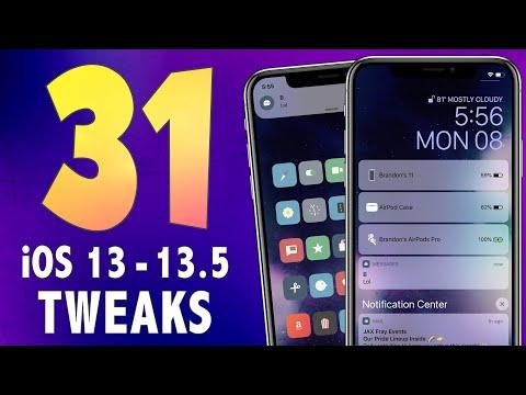 31-amazing-ios-13.5-jailbreak-tweaks!- -best-ios-13---13.5-cydia-jailbreak-tweaks