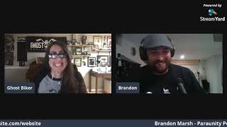 Episode 1 Ghost Biker Garage LIVE - Shop Talk w/Brandon Marsh from the ParaUnity Podcast
