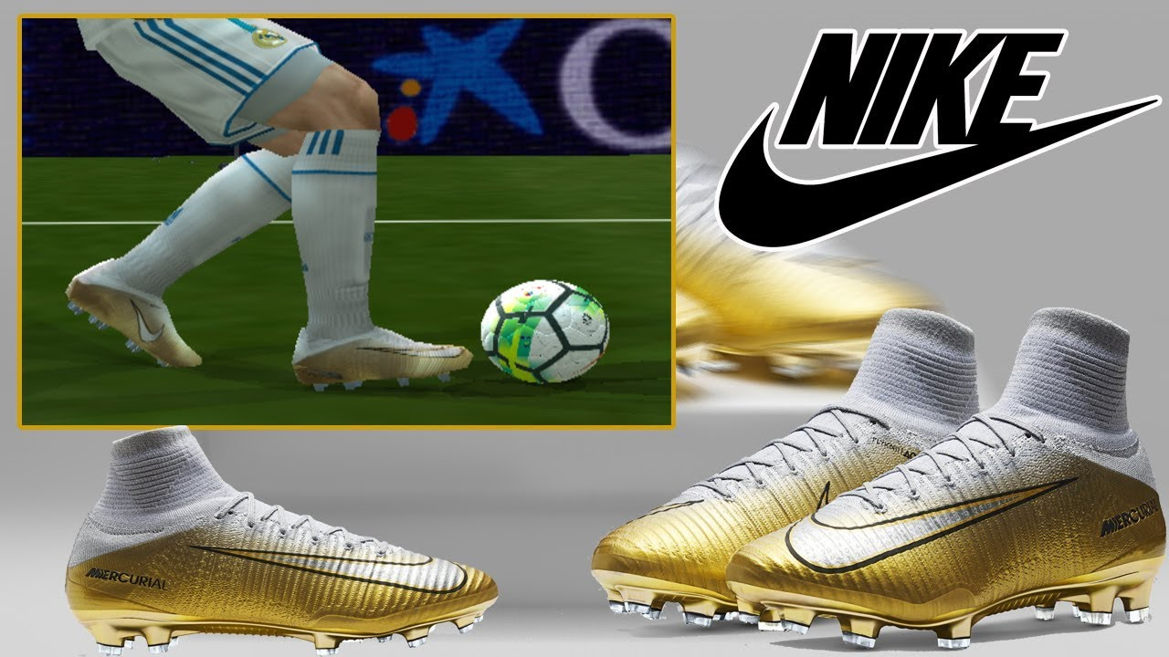 20ca7787d15 PES6  - Nike Mercurial SuperFly CR7 Quinto Triunfo - YouTube