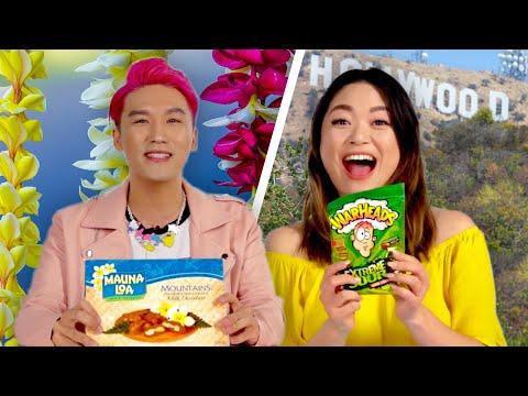 Hawaiians & Californians Swap Snacks