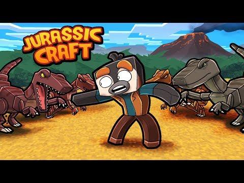 Jurassic Craft - HOW TO TRAIN RAPTORS! (Minecraft Dinosaurs)
