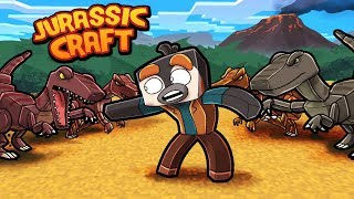 Jurassic Craft - HOW TO TRAIN RAPTORS! (Minecraft Dinosaurs)
