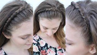 Easy Braided Headband Style | Braided Headbands | Braidsandstyles12
