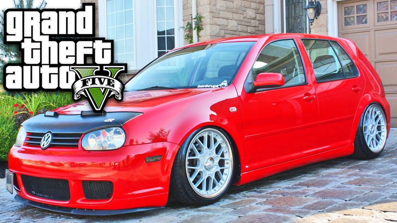 Excepcional GTA V - Carro VOLKSWAGEN GOLF - YouTube CW19
