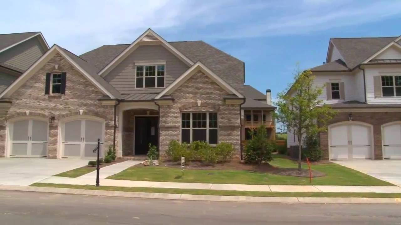 Two Decorated Model Homes Now Open At Brookmere At Johns Creek Youtube