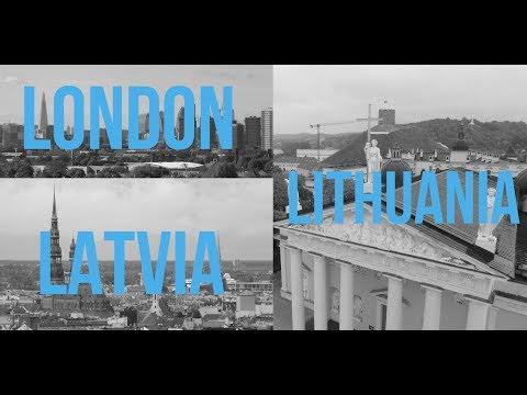Travel Vlog l London/Lithuania/Latvia - October 2017