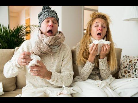 Простуда.грипп,методы лечения монастырского врача Кравченко