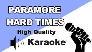 🔴🎤Paramore - Hard Times | Instrumental/Karaoke Universe HD with lyrics🎤🔴