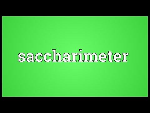 Header of saccharimeter