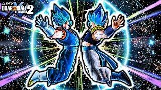 NEW VEGITO & GOGETA BLUE FUSION MOVESET! Dragon Ball Xenoverse 2 Custom Gogito Blue Gameplay