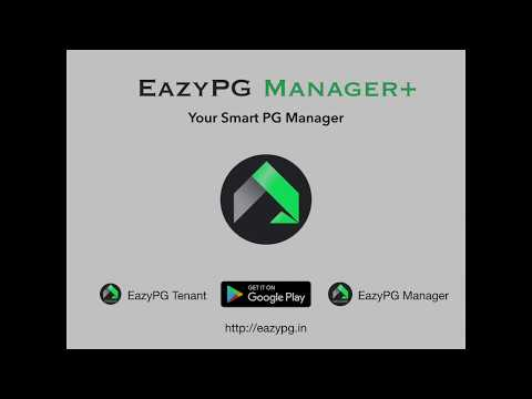 EazyPG Manager- Manage Your PG/Hostel/Flat Smartly
