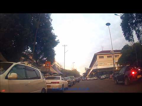 Kampala Drive - Early Morning Through Nakasero