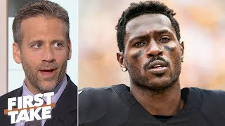 Antonio Brown will regret leaving the Steelers for the Raiders - Max Kellerman | First Take