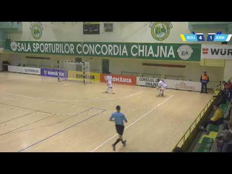 Futsal LIVE: România – Armenia