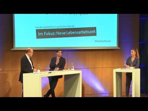 »Wir wir in Zukunft arbeiten werden« mit Dr. Max Neufeind, Frank Breckwoldt und Tijen Onaran