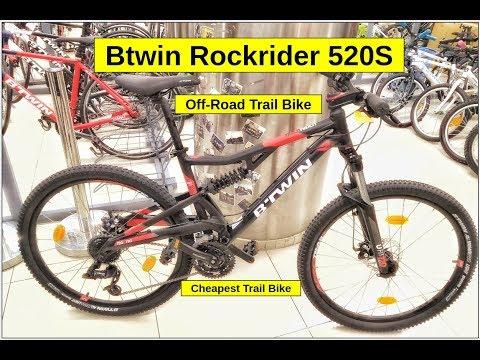 Btwin Rockrider 520S Bike Check | Full Details | Price | Weight | Trail Bike ?