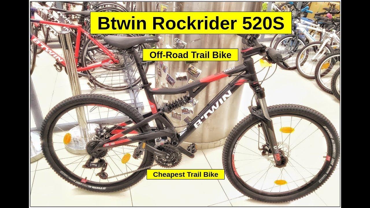 Btwin Rockrider 520s Bike Check Full Details Price Weight Trail Bike