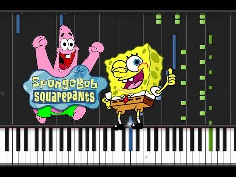 Print and download spongebob squarepants theme song sheet music.