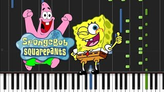 Spongebob - Sweet Victory [Piano Cover Tutorial] (♫)