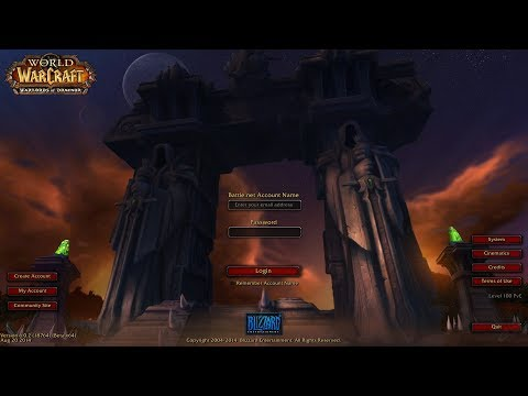 Пройти все дополнения WoW - Warlords of Draenor Firestorm x5