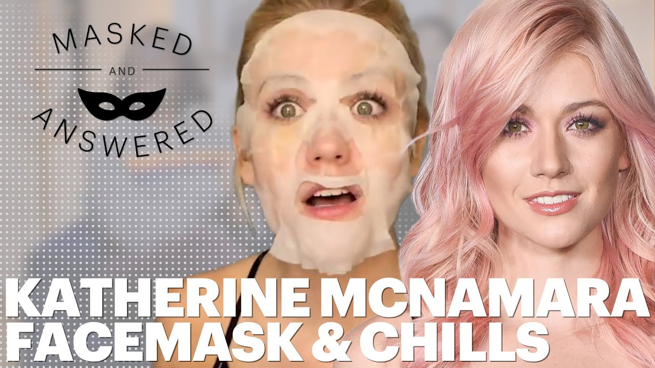 How Katherine McNamara Keeps Her Glow After Sweaty Fight Scenes | Masked And Answered | Marie Claire