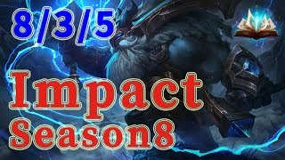 Team Liquid Impact Ornn TOP vs Darius Patch 8.19