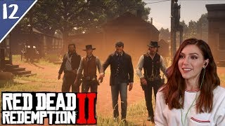 Hanging with the Boys | Red Dead Redemption 2 Pt. 12 | Marz Plays