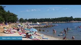 Plaže Funtana Istra
