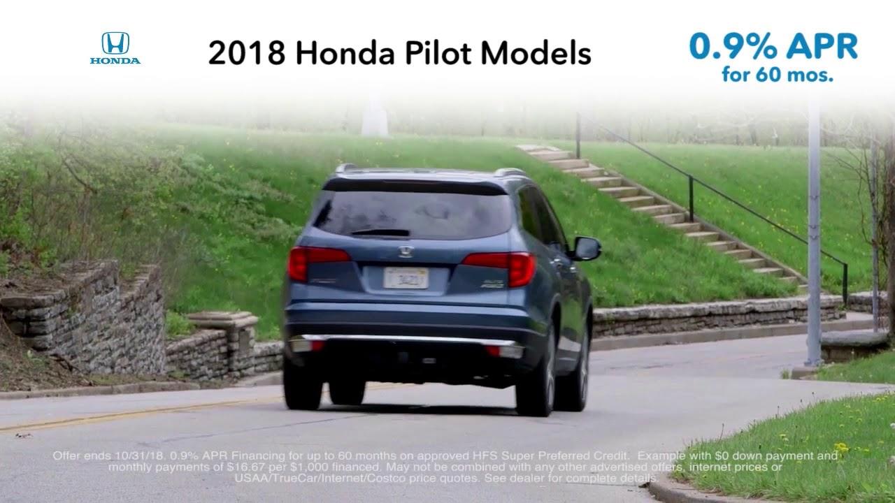 2018 Honda Pilot Models! 0.9% APR! Washington DC Honda Dealer MD
