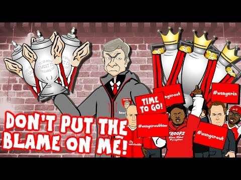 Thumbnail: WENGER sings HUMAN! Don't Put The Blame On Him! (Wenger Out? Wenger Confronts Arsenal Fan TV)