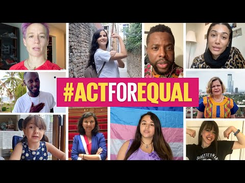 #ActForEqual - Generations Together  - 08:57-2021 / 6 / 21
