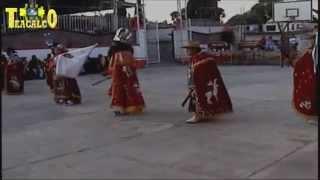Danza de Moros y Cristianos en Santa Apolonia Teacalco Tlaxcala