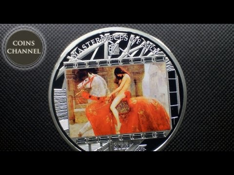 20$ Silver Coin Cook Islands 2013 - ARS VATICANA JOHN COLLIER - Lady Godiva