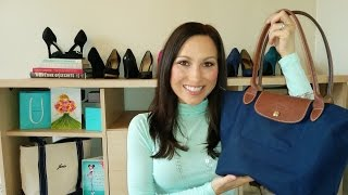 What's In My Bag? Longchamp Le Pliage Thumbnail