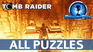 Shadow of the Tomb Raider - All Story Puzzles Solutions Walkthrough