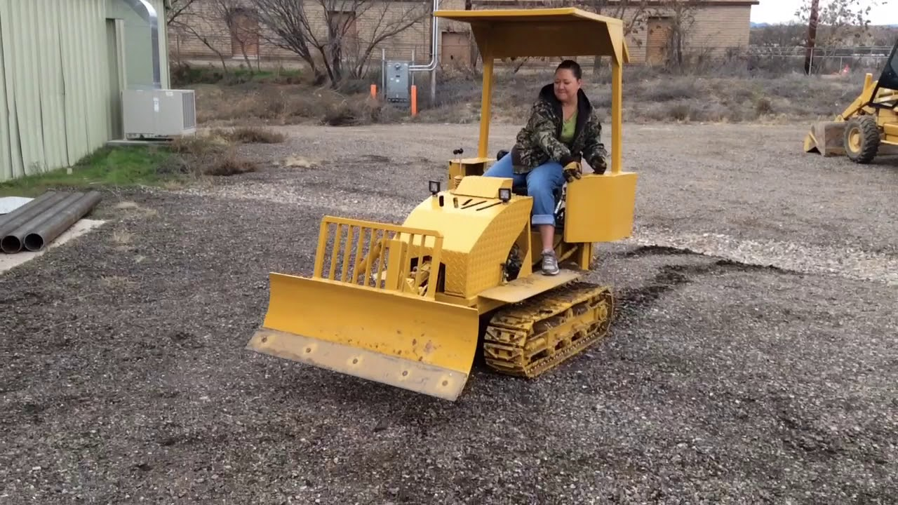 Homemade dozer  Dozer on supersdperry