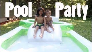 Market Day and Pool Party | April