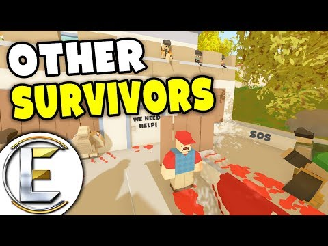 Surviving An Infected Horde - Unturned Roleplay Outbreak Story S3#3 (Found Other Survivors) thumbnail
