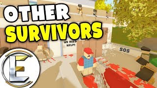 Surviving An Infected Horde - Unturned Roleplay Outbreak Story S3#3 (Found Other Survivors)