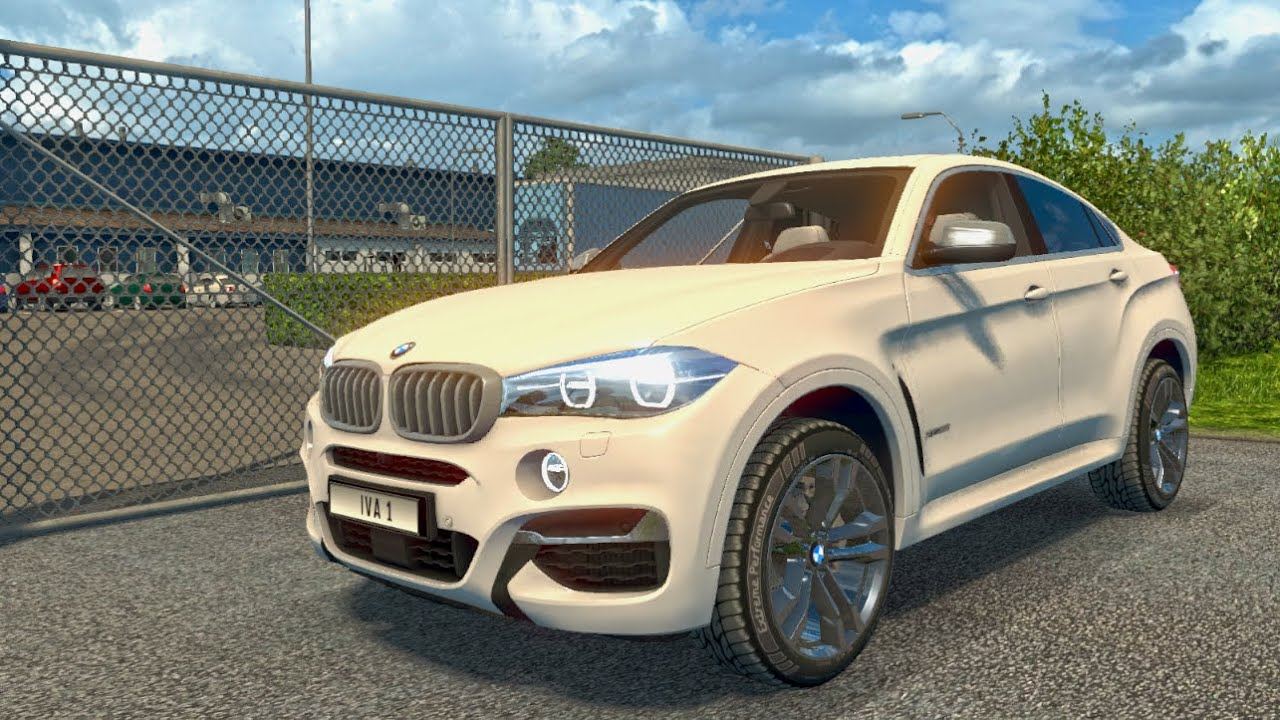 Ets2 Bmw X6m Mod Euro Truck Simulator 2 Youtube