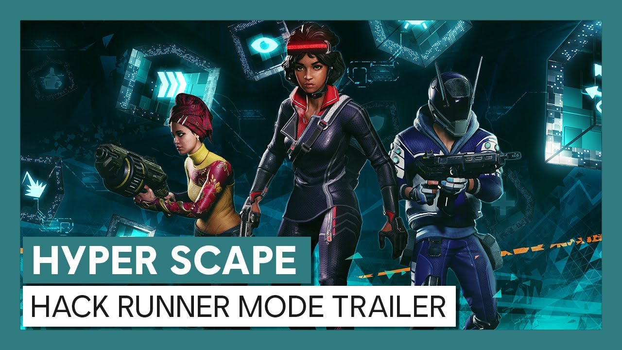 Hyper Scape: Hack Runner Mode Trailer