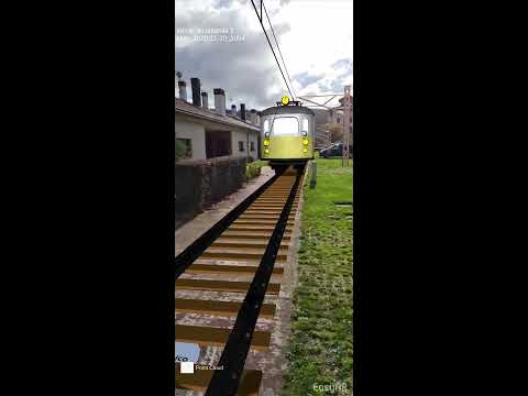 FLASHBACK : El Trenico. Recorrido artístico y aumentado de la historia del tren Vasco-Navarro