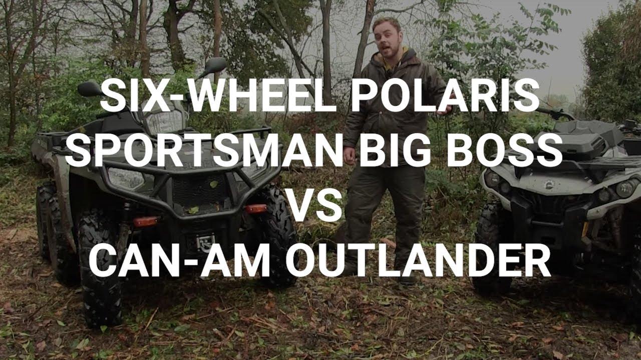 On test - Six-wheel Polaris Sportsman Big Boss v Can-Am Outlander