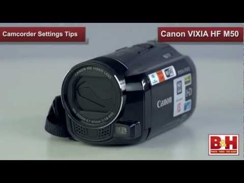 Camcorder Settings Tips
