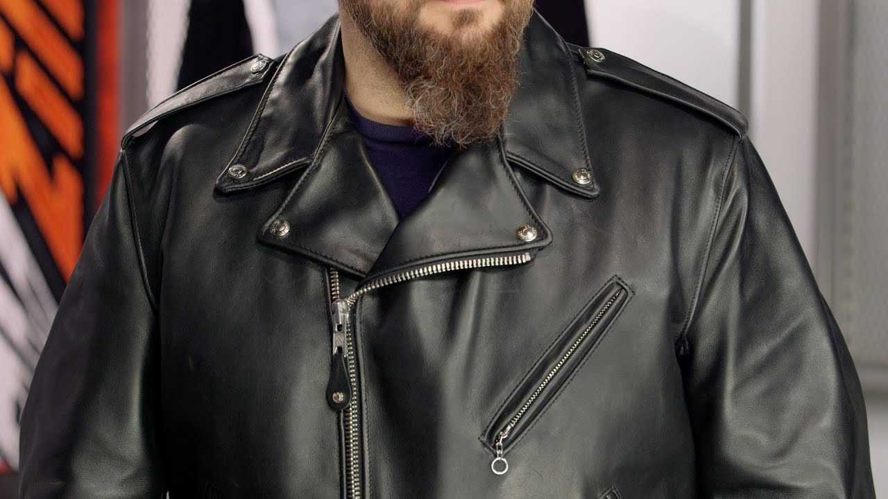 Schott 118 Perfecto Jacket Review at RevZilla.com - YouTube 9079cb358a4