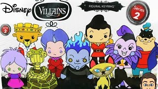 DISNEY VILLAINS SERIES 2 FIGURAL KEYRINGS | BLIND BAG OPENING | EXCLUSIVE FOUND!